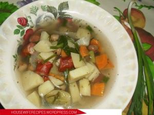 вкусный суп с охотничьими колбасками